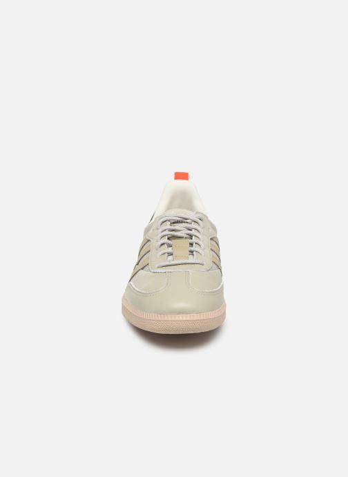 Baskets adidas originals Samba Og Gris vue portées chaussures