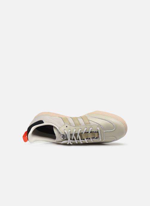 Sneaker adidas originals Samba Og grau ansicht von links