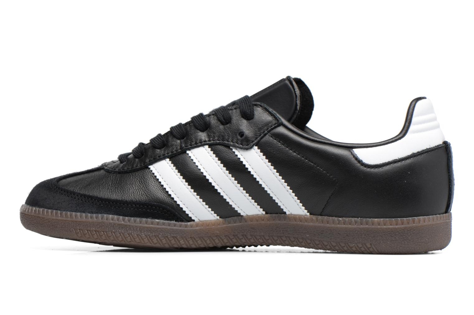 Baskets Adidas Originals Samba Og Noir vue face
