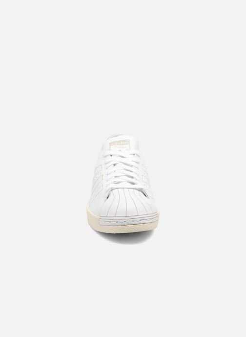Trainers adidas originals Superstar 80S Decon White model view