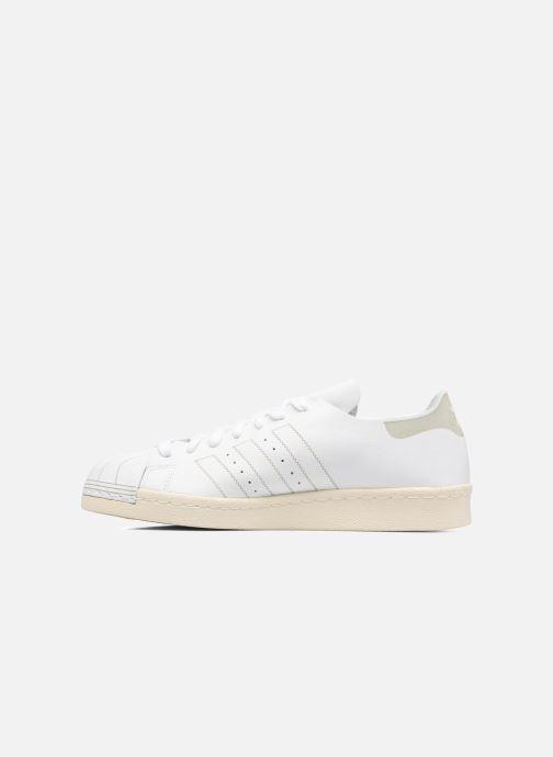 Trainers Adidas Originals Superstar 80S Decon White front view