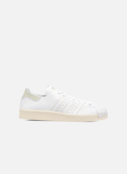 Trainers Adidas Originals Superstar 80S Decon White back view