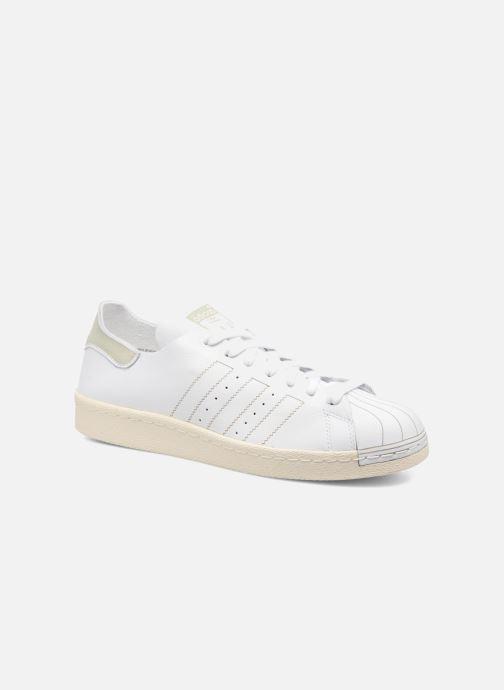 Trainers Adidas Originals Superstar 80S Decon White detailed view/ Pair view