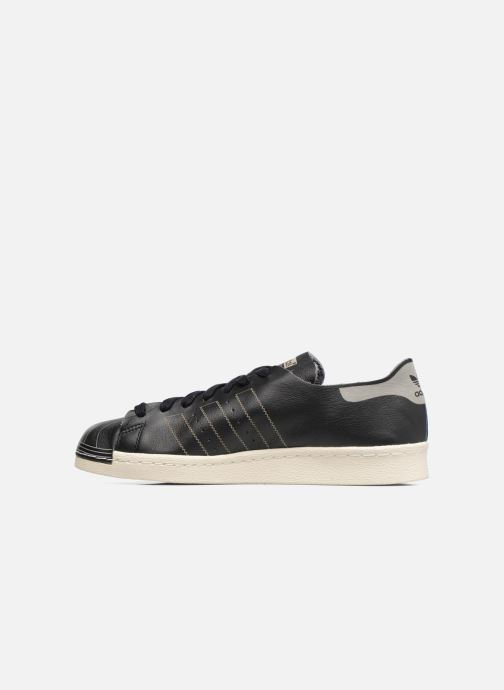 Sneaker adidas originals Superstar 80S Decon schwarz ansicht von vorne