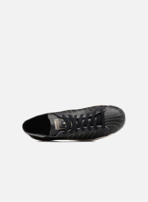 Sneaker adidas originals Superstar 80S Decon schwarz ansicht von links