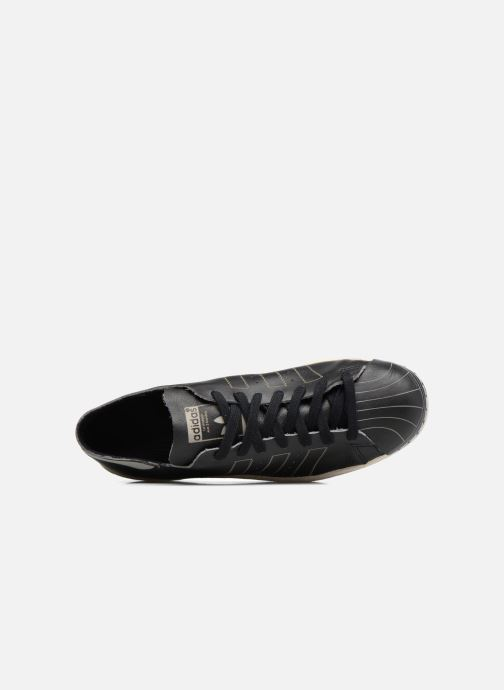 Trainers adidas originals Superstar 80S Decon Black view from the left