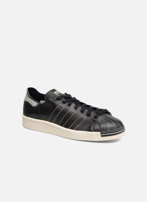 Trainers Adidas Originals Superstar 80S Decon Black detailed view/ Pair view