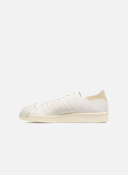 Sneakers adidas originals Superstar 80S Decon Hvid se forfra