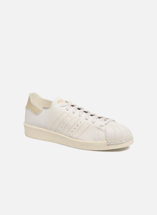 Deportivas adidas originals Superstar 80S Decon Blanco vista de detalle / par