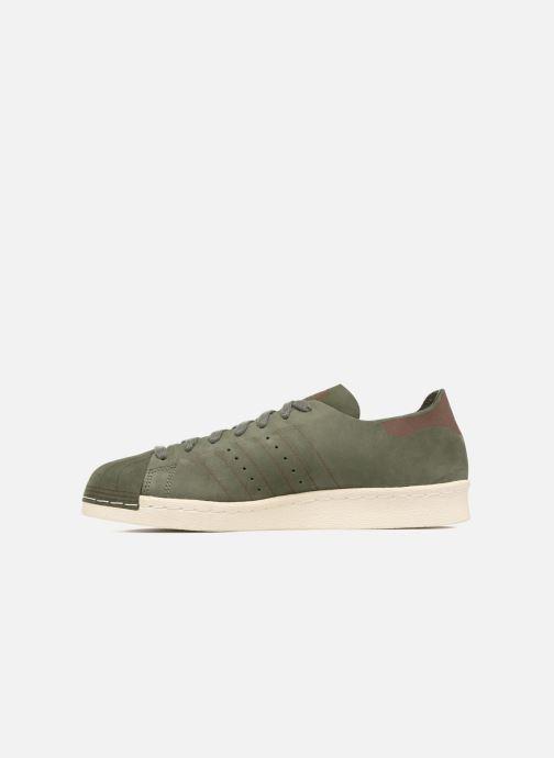 Sneakers adidas originals Superstar 80S Decon Verde immagine frontale