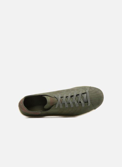 Sneakers adidas originals Superstar 80S Decon Verde immagine sinistra