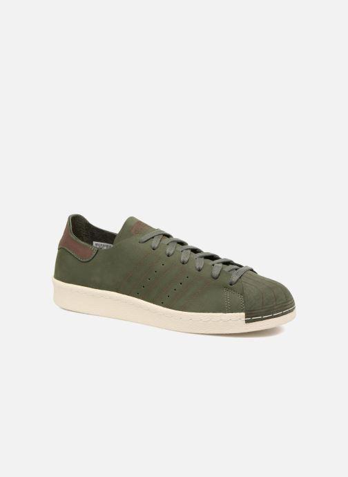 Sneakers adidas originals Superstar 80S Decon Grön detaljerad bild på paret