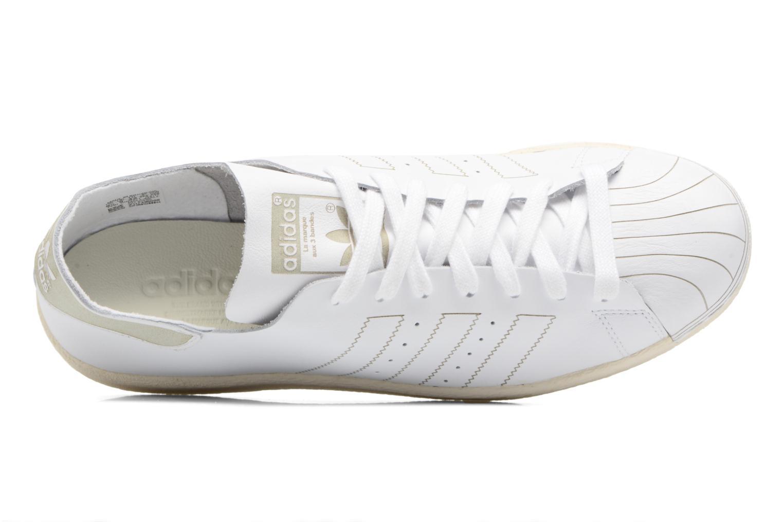 Baskets Adidas Originals Superstar 80S Decon Blanc vue gauche