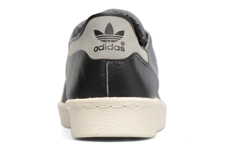 Baskets Adidas Originals Superstar 80S Decon Noir vue droite
