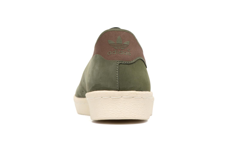 Sneakers Adidas Originals Superstar 80S Decon Groen rechts