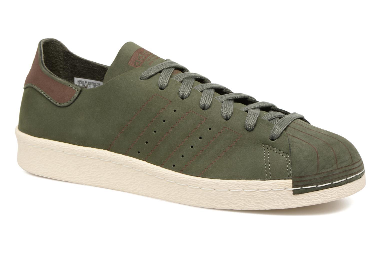 Sneakers Adidas Originals Superstar 80S Decon Groen detail