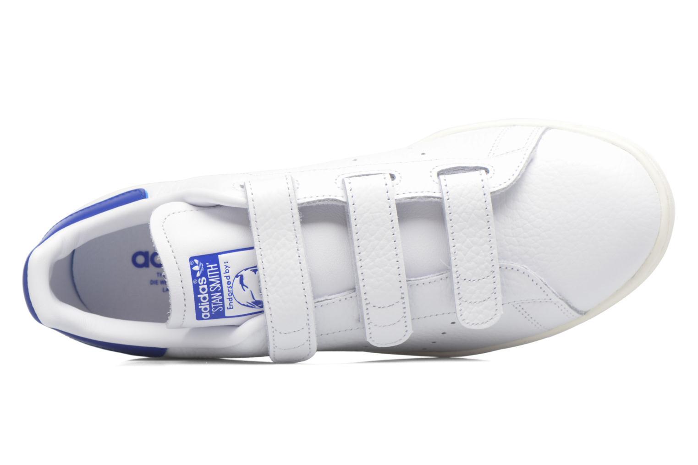 Baskets Adidas Originals Stan Smith Cf M Blanc vue gauche