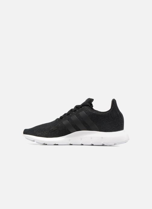 Deportivas adidas originals Swift Run W Negro vista de frente