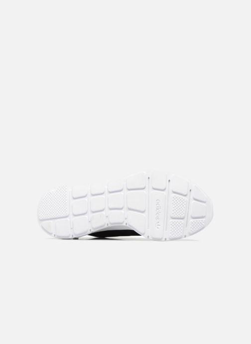 Baskets adidas originals Swift Run W Noir vue haut