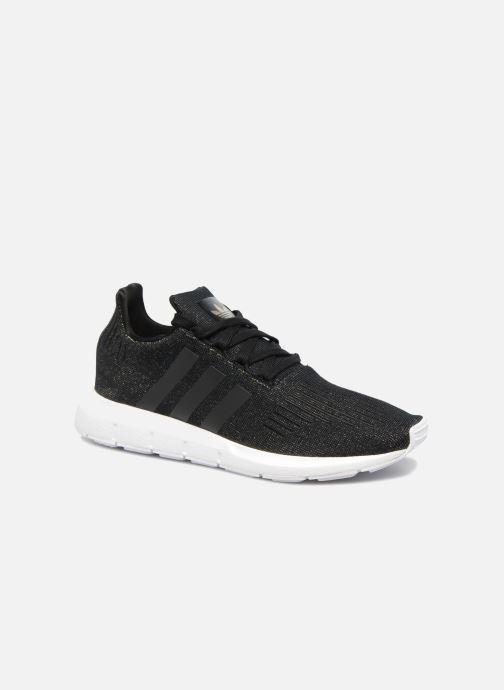 sale retailer 68b1f e0d78 Sneakers adidas originals Swift Run W Zwart detail