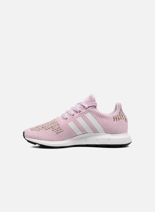 Trainers adidas originals Swift Run W Pink front view