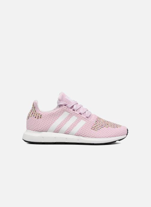 Trainers adidas originals Swift Run W Pink back view