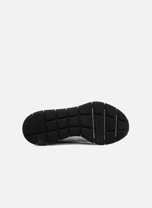 Baskets adidas originals Swift Run W Rose vue haut