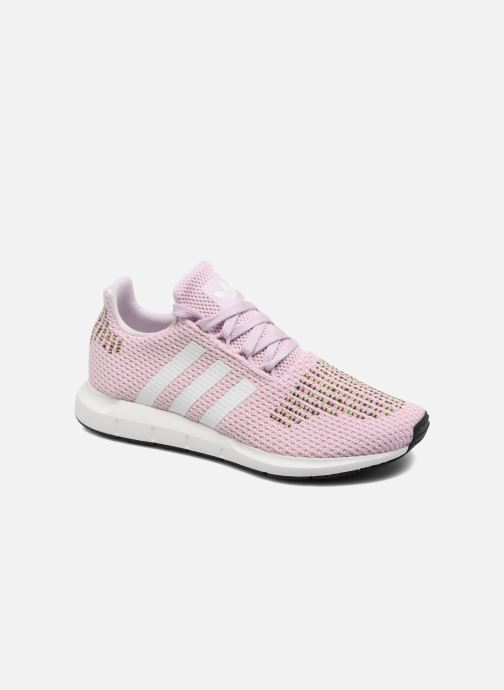 Deportivas Adidas Originals Swift Run W Rosa vista de detalle / par