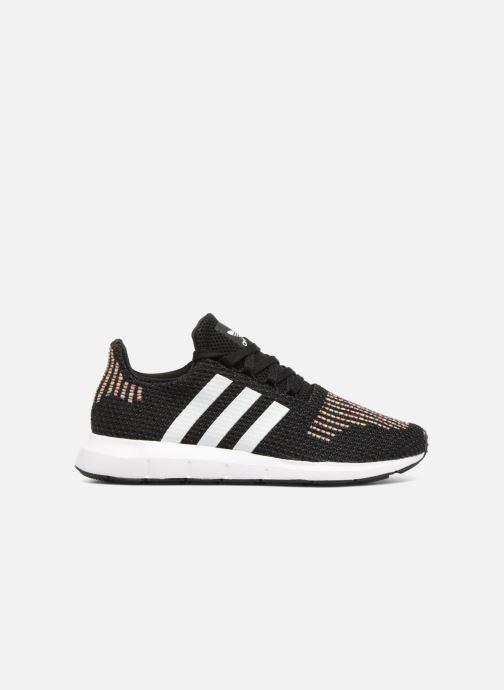Sneaker adidas originals Swift Run W schwarz ansicht von hinten