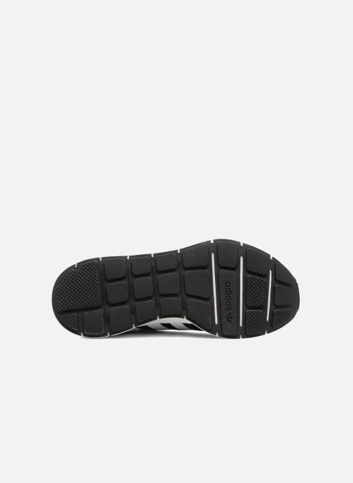 Sneaker adidas originals Swift Run W schwarz ansicht von oben