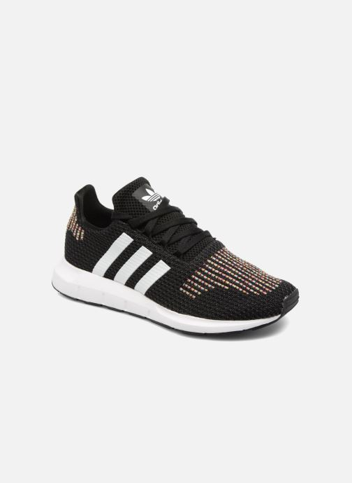 4eb6c733b4b1a6 adidas originals Swift Run W (Noir) - Baskets chez Sarenza (323144)