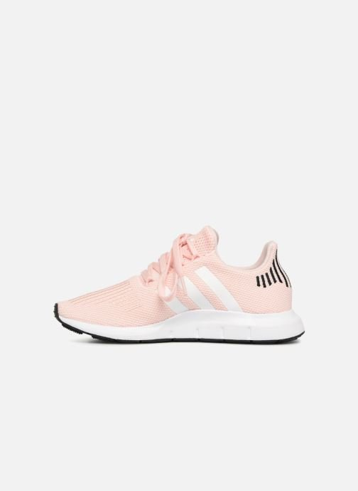Trainers adidas originals Swift Run W Pink front view