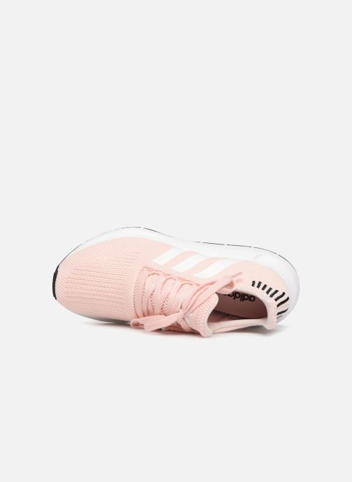 Trainers adidas originals Swift Run W Pink view from the left