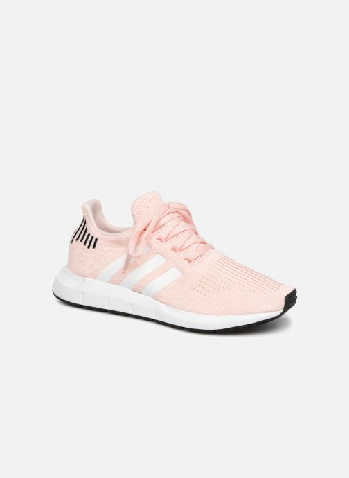 Trainers adidas originals Swift Run W Pink detailed view/ Pair view