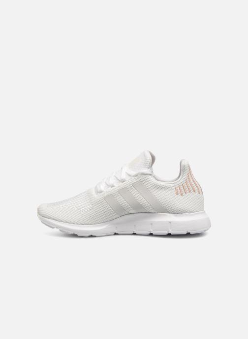 Sneaker Adidas Originals Swift Run W weiß ansicht von vorne