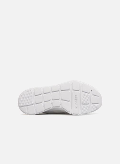 Sneaker Adidas Originals Swift Run W weiß ansicht von oben