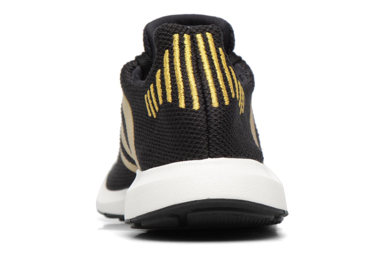 Deportivas Adidas Originals Swift Run W Oro y bronce vista lateral derecha