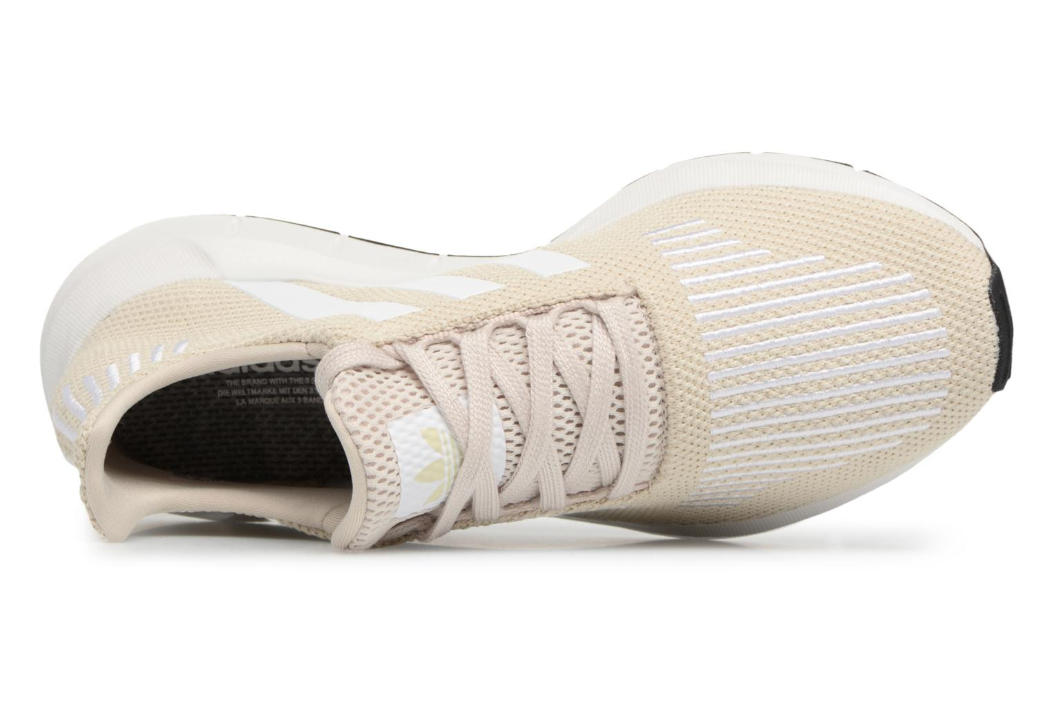 Sneakers Adidas Originals Swift Run W Beige bild från vänster sidan