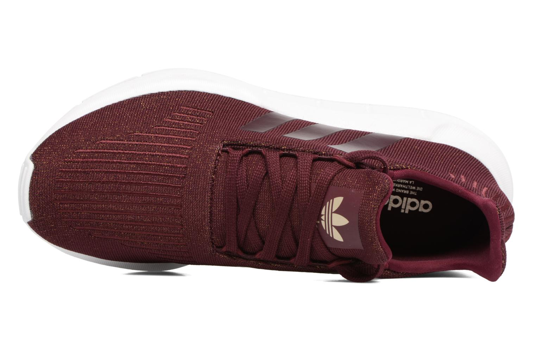 Baskets Adidas Originals Swift Run W Bordeaux vue gauche