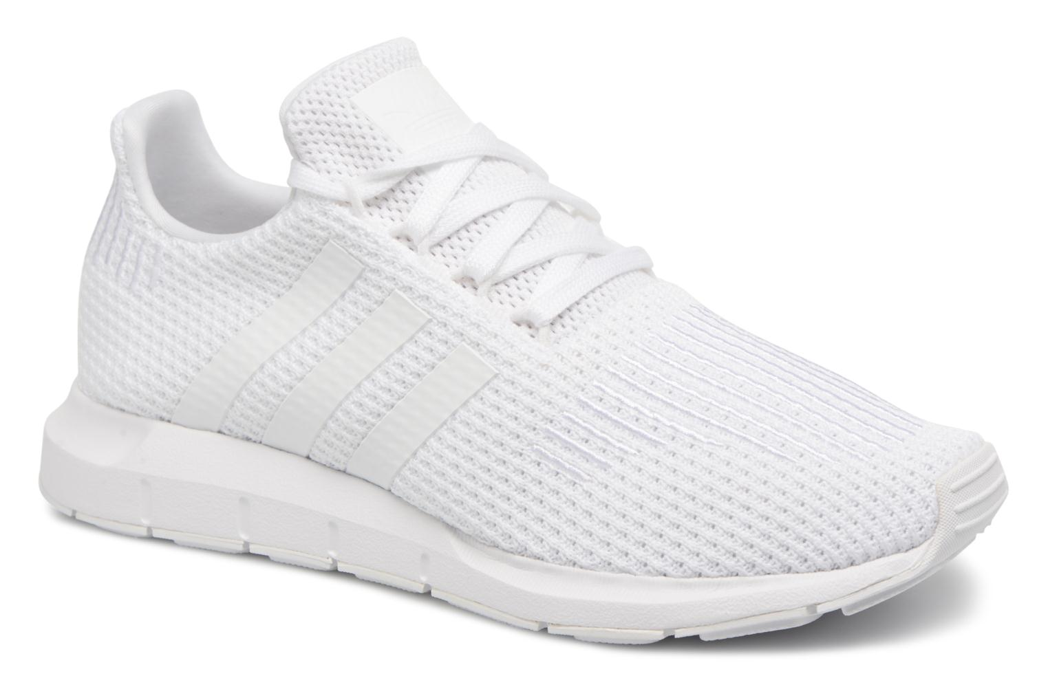Baskets Adidas Originals Swift Run W Blanc vue détail/paire