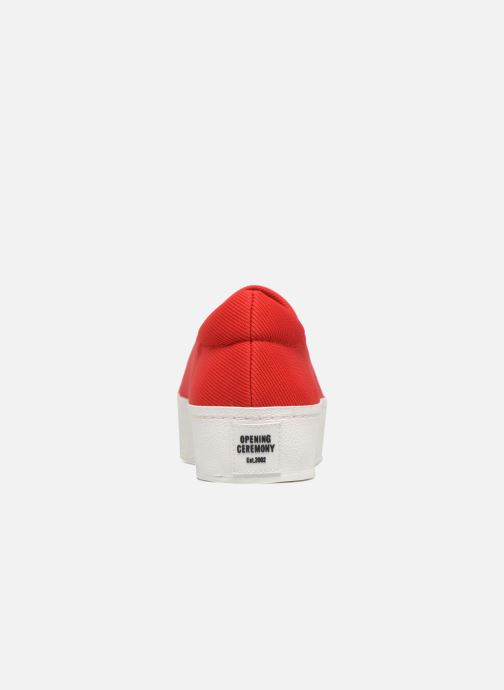 Baskets Opening Ceremony Cici Classic Slip On Rouge vue droite