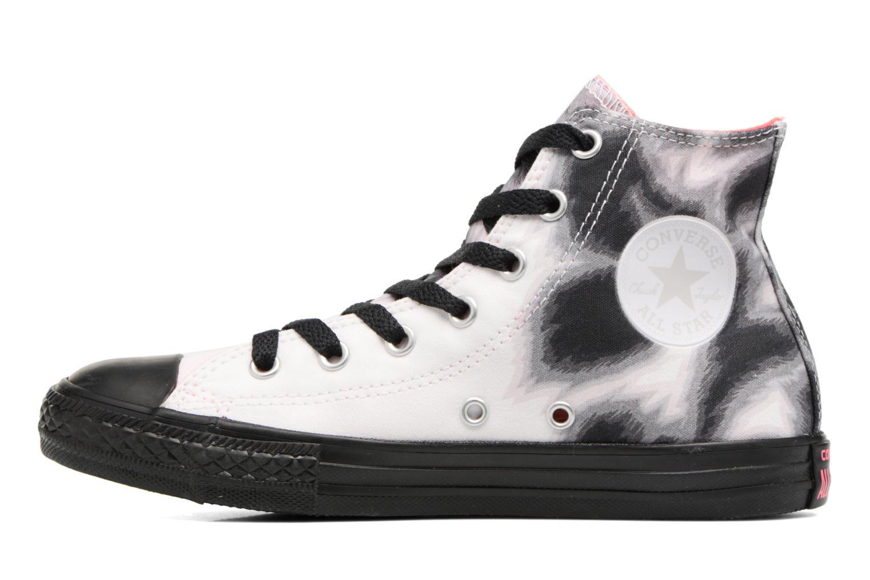 Sneaker Converse Chuck Taylor All Star BTS Graphic Hi schwarz ansicht von vorne