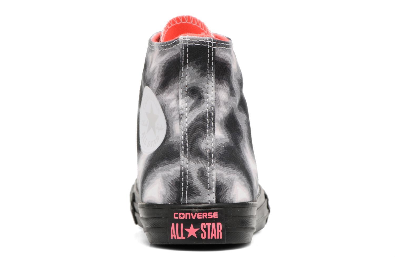 Sneaker Converse Chuck Taylor All Star BTS Graphic Hi schwarz ansicht von rechts