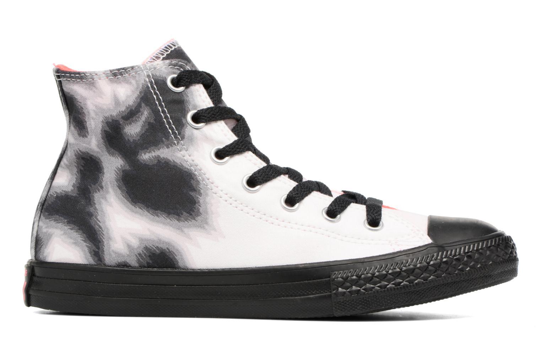 Sneaker Converse Chuck Taylor All Star BTS Graphic Hi schwarz ansicht von hinten