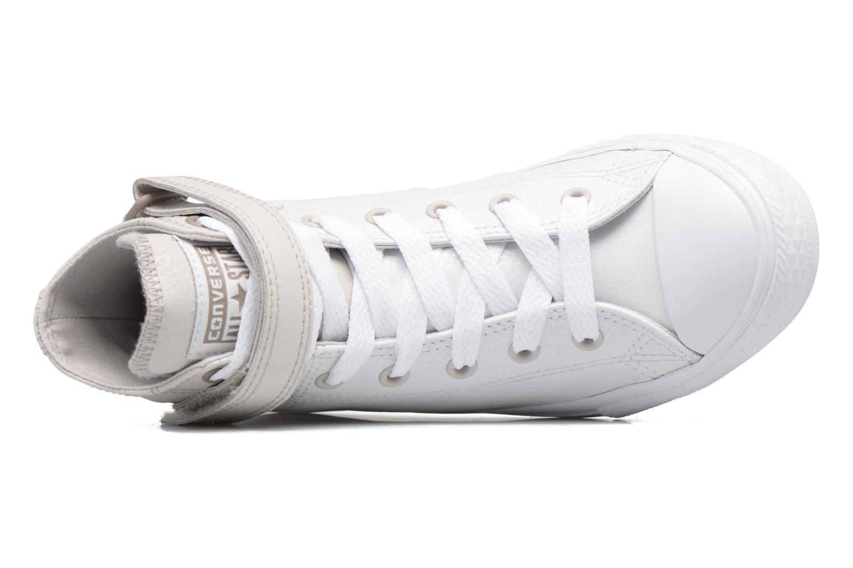 Sneaker Converse Chuck Taylor All Star Brea  Hi weiß ansicht von links