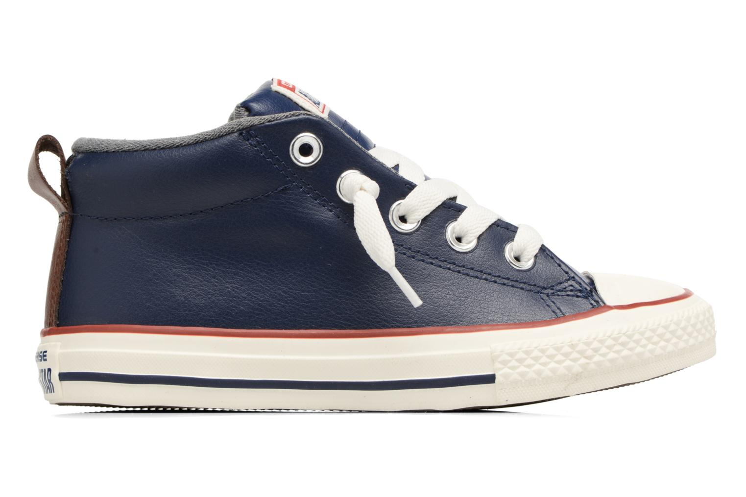 Baskets Converse Chuck Taylor All Star Street Holiday Fundamentals Mid Bleu vue derrière