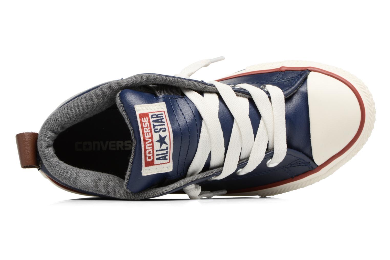 Baskets Converse Chuck Taylor All Star Street Holiday Fundamentals Mid Bleu vue gauche