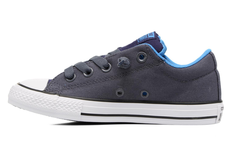 Sneaker Converse Chuck Taylor All Star Street Holiday blau ansicht von vorne