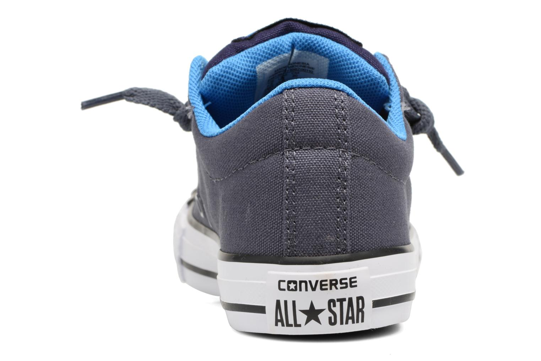 Sneaker Converse Chuck Taylor All Star Street Holiday blau ansicht von rechts