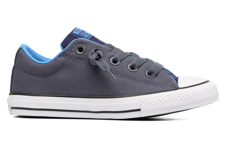Sneaker Converse Chuck Taylor All Star Street Holiday blau ansicht von hinten